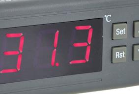 Temperatur detektering