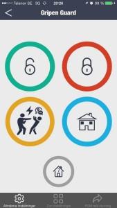 Gripen Guard hemlarm app